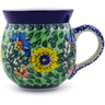 12 oz Stoneware Bubble Mug - Polmedia Polish Pottery H8196B