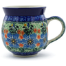 12 oz Stoneware Bubble Mug - Polmedia Polish Pottery H8258A