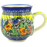 12 oz Stoneware Bubble Mug - Polmedia Polish Pottery H8325D