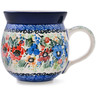 12 oz Stoneware Bubble Mug - Polmedia Polish Pottery H8326D