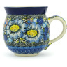 12 oz Stoneware Bubble Mug - Polmedia Polish Pottery H8472G