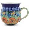 12 oz Stoneware Bubble Mug - Polmedia Polish Pottery H8514G