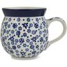 12 oz Stoneware Bubble Mug - Polmedia Polish Pottery H8733A