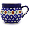 12 oz Stoneware Bubble Mug - Polmedia Polish Pottery H8871B
