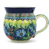 12 oz Stoneware Bubble Mug - Polmedia Polish Pottery H9068G