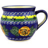 12 oz Stoneware Bubble Mug - Polmedia Polish Pottery H9177D
