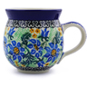 12 oz Stoneware Bubble Mug - Polmedia Polish Pottery H9282A