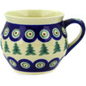 12 oz Stoneware Bubble Mug - Polmedia Polish Pottery H9315D