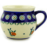 12 oz Stoneware Bubble Mug - Polmedia Polish Pottery H9510D