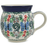 12 oz Stoneware Bubble Mug - Polmedia Polish Pottery H9634A