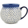 12 oz Stoneware Bubble Mug - Polmedia Polish Pottery H9750K