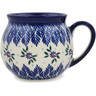 12 oz Stoneware Bubble Mug - Polmedia Polish Pottery H9753K