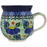 12 oz Stoneware Bubble Mug - Polmedia Polish Pottery H9776K
