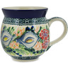 12 oz Stoneware Bubble Mug - Polmedia Polish Pottery H9777K