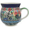 12 oz Stoneware Bubble Mug - Polmedia Polish Pottery H9780K