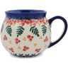12 oz Stoneware Bubble Mug - Polmedia Polish Pottery H9816K