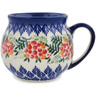 12 oz Stoneware Bubble Mug - Polmedia Polish Pottery H9817K
