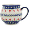 12 oz Stoneware Bubble Mug - Polmedia Polish Pottery H9818K