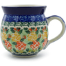 12 oz Stoneware Bubble Mug - Polmedia Polish Pottery H9893A