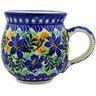 12 oz Stoneware Bubble Mug - Polmedia Polish Pottery H9969A
