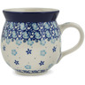 12 oz Stoneware Bubble Mug - Polmedia Polish Pottery H9977K