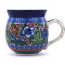 12 oz Stoneware Bubble Mug - Polmedia Polish Pottery H9992F