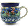 12 oz Stoneware Bubble Mug - Polmedia Polish Pottery H9993F