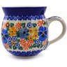 12 oz Stoneware Bubble Mug - Polmedia Polish Pottery H9998A