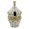 12 oz Stoneware Honey Jar - Polmedia Polish Pottery H6045K