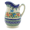 12 oz Stoneware Pitcher - Polmedia Polish Pottery H4158J