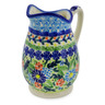 12 oz Stoneware Pitcher - Polmedia Polish Pottery H4494K