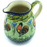 12 oz Stoneware Pitcher - Polmedia Polish Pottery H4667H