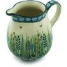 12 oz Stoneware Pitcher - Polmedia Polish Pottery H4855H