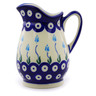 12 oz Stoneware Pitcher - Polmedia Polish Pottery H6980I