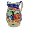 12 oz Stoneware Pitcher - Polmedia Polish Pottery H6999J