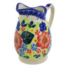 12 oz Stoneware Pitcher - Polmedia Polish Pottery H7000J