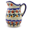 12 oz Stoneware Pitcher - Polmedia Polish Pottery H9114I