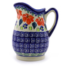 12 oz Stoneware Pitcher - Polmedia Polish Pottery H9234I