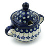 12 oz Stoneware Sugar Bowl - Polmedia Polish Pottery H0953A