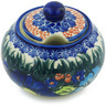 12 oz Stoneware Sugar Bowl - Polmedia Polish Pottery H4060H