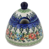 12 oz Stoneware Sugar Bowl - Polmedia Polish Pottery H4446K