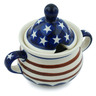 12 oz Stoneware Sugar Bowl - Polmedia Polish Pottery H6448C