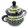 12 oz Stoneware Sugar Bowl - Polmedia Polish Pottery H6651C