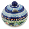12 oz Stoneware Sugar Bowl - Polmedia Polish Pottery H7690K