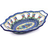 13-inch Stoneware Bowl with Holes - Polmedia Polish Pottery H0433G