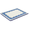 13-inch Stoneware Cookie Sheet - Polmedia Polish Pottery H1158J