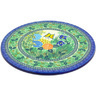 13-inch Stoneware Cutting Board - Polmedia Polish Pottery H6852G