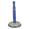 13-inch Stoneware Paper Towel Stand - Polmedia Polish Pottery H2978B