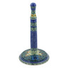 13-inch Stoneware Paper Towel Stand - Polmedia Polish Pottery H3479B