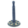 13-inch Stoneware Paper Towel Stand - Polmedia Polish Pottery H5909B